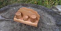 Набор для специй с подставкой и салфетницей