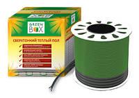 Теплый пол Green Box двухжильный тонкий кабель, 140 Вт, 0.9-1.2 м2 (GB 150) ССТ