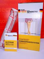 Нагревательный мат для теплого пола, двухжильный кабель, 1210 Вт, 8,0м2 (WSM-1210-8,00) Warmstad