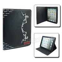Griffin Чехол с вышитым узором для Apple iPad 2/3/4 Черный