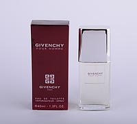Мужская парфюмерия Givenchy pour Homme Tester 40ml MUS /65