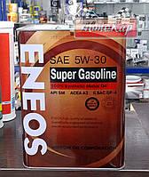 Масло моторное ENEOS SUPER GASOLINE SM 5W-30 ✔ 4л.