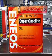 Масло моторное Eneos Super Gasoline API SL 10W40 ✔ 4л.