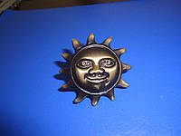 Ручка мебельная солнце бронза