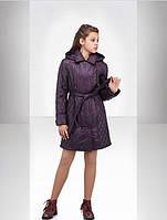 Стильная детская курточка на девочку удлиненная от производителя