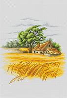 """Набор для вышивания крестиком """"Сельский пейзаж"""""""