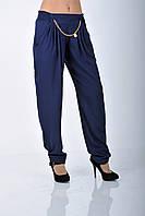 Мирра.Молодёжные брюки женские.Синий.(Р).