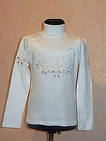 Водолазка-блуза нарядная для девочки в школу.