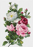 """Набор для вышивания крестиком (цветы) """"Букет из роз"""""""