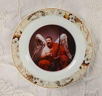 Фото на тарелке, сувенирная тарелка, фото 1