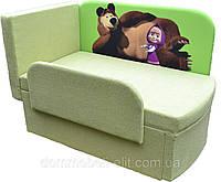 Детский диван мультик Маша и медведь