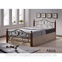 Кровать кованная, железная Алекса
