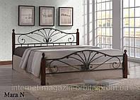 Кровать кованная, железная Мара Н (N)