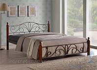 Кровать кованная, железная АТ - 9181