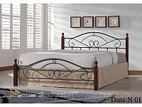 Кровать кованная, железная Дана Н (Dana N)