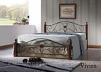 Кровать кованная, железная Вивиен (Vivien)