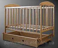 Кровать Наталка маятник с ящиком