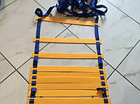 Координационная лестница для тренировки скорости 12 ступеней (6 метров) 4мм