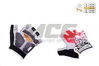 """Перчатки без пальцев   """"HAND CREW""""   mod:1, гелевые подушки"""