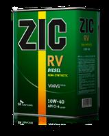 Моторное масло ZIC RV 10W-40 ✔ 4л.