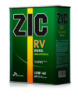 Моторное масло ZIC RV 10W-40 ✔ 1л.