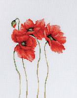 """Набор для вышивания крестиком (цветы) """"Маки"""""""