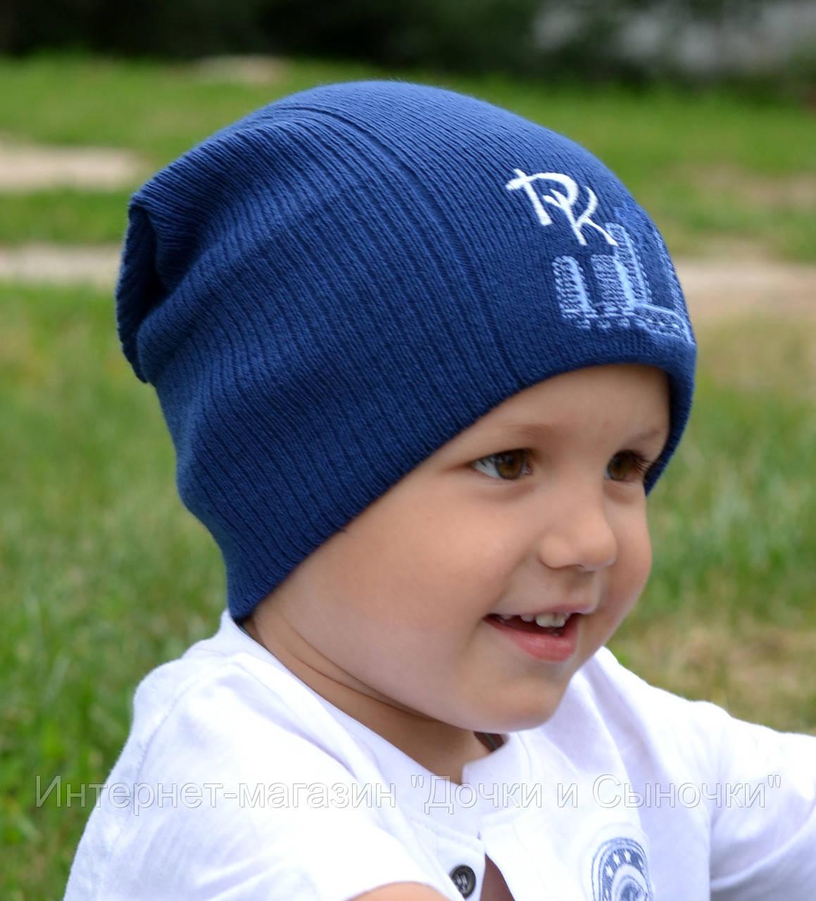 Детские шапочки, шарфики и береты спицами или крючком с 52