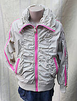 Куртка-ветровка для девочки. Детская одежда.