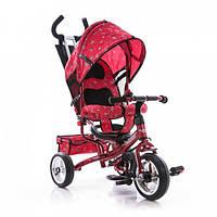 Детский трёхколёсный велосипед Turbo Trike М 5361-5, красный