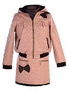 Комплект-костюм для девочки (куртка и платье) ДИОР