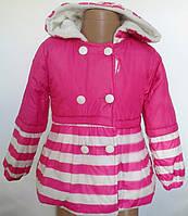 Куртка для девочек на флиссе