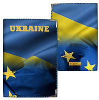 Обложка для паспорта с принтом