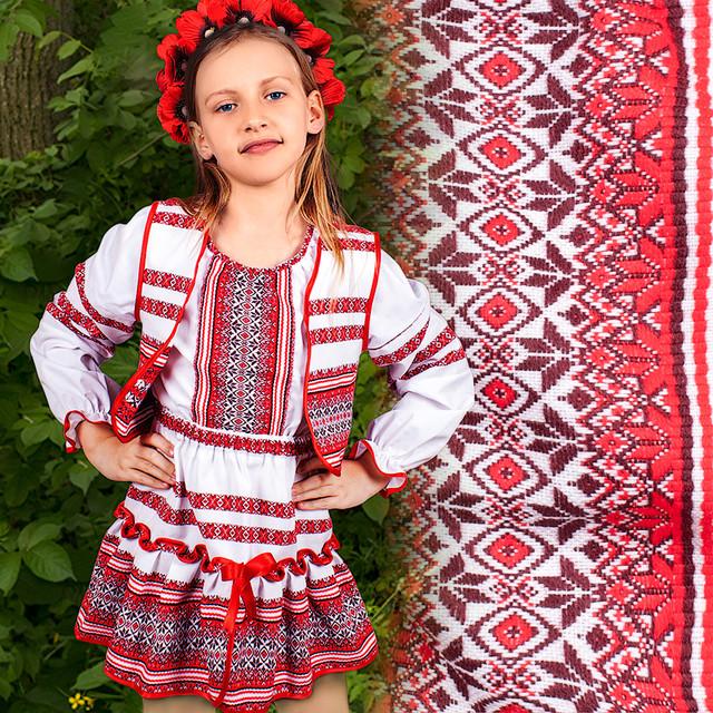 Детские вышиванки и костюмы