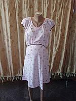Ночная рубашка  для кормления с коротким рукавом