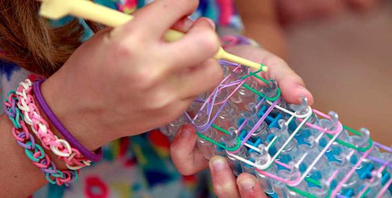 Обучения плетения из резинок