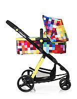 Cosatto, Детская коляска Giggle 3в1Travel System+автокресло  цвет PIXELATE
