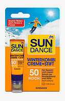 SUNDANCE Winterkombi Sonnencreme + Stift LSF 50-Солнцезащитный зимний крем(20 мл)+Бальзам для губ SPF 50(3,2г)