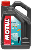 Моторное масло для водного транспорта 4-х тактное полусинтетика MOTUL OUTBOARD TECH 4T SAE 10W40 (5L)