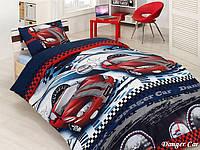 Красивое постельное подростковое First Choice Danger car бязь