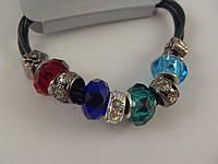 Яркий браслет Pandora (пандора) цветные шармы 012783