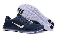 Мужские Кроссовки Nike Free Run 3.0 V6 темно синие