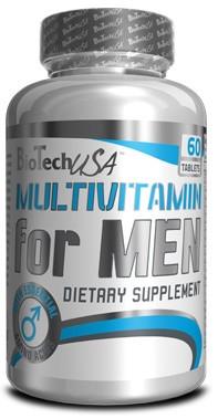 Витамины Multivitamin for Men BioTech 60 таблеток