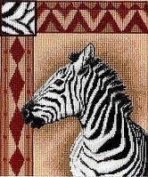 """Набор для вышивания крестиком (животные) """"Зебра"""""""