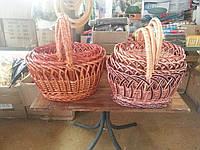 Набор корзин для Пасхи 4шт