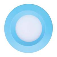 Светодиодный светильник встраиваемый светильник Feron AL525 3w голубой