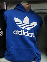 Толстовка мужская спортивная ADIDAS синяя