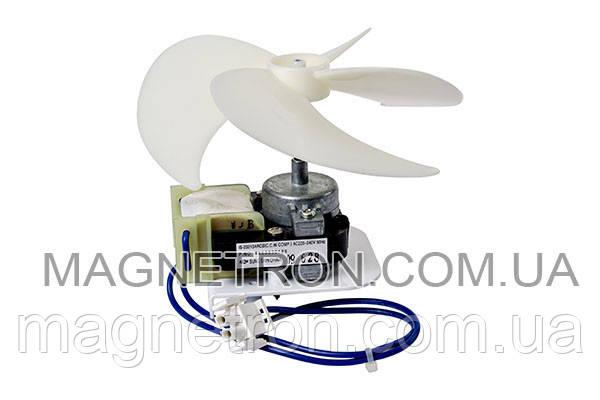 Мотор вентилятора + крыльчатка для холодильника Beko IS-23213ARC 4144890201, фото 2