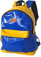"""Патриотический городской рюкзак из искусственной кожи для ноутбука 14,1"""", 20 л. Derby 0100599.88 синий"""