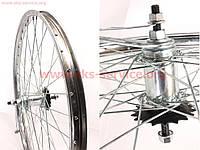 """Велосипедное колесо 24"""" заднее, втулка """"Украина-червяк"""" в сборе"""