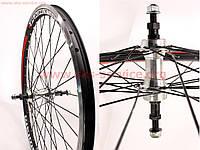 """Заднее колесо на велосипед 24"""" MTB """"капля"""" обод и втулка алюминиевые в сборе, под вольнобег"""